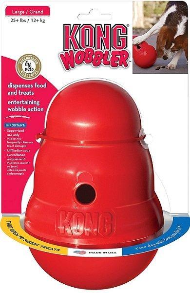 Kong WobblerDispensing Dog Toy