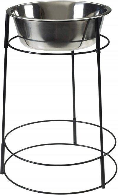 Hi-rise Single Elevated Dog Bowl