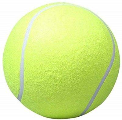 Pecute 9.5 Inch Tennis Ball Signature Signal Mega Jumbo Larger Pets Toys Dogs Outdoor Sports