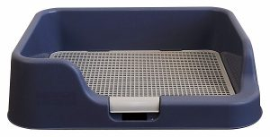 Indoor Dog Potty Tray – with Protection Wall Every Side for No Leak