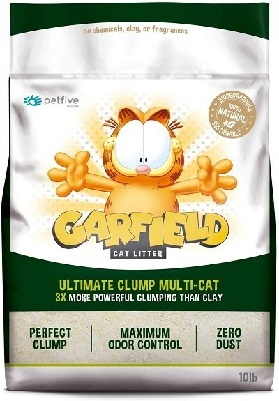 Garfield Cat Litter Ultimate Clump, All Natural, Fast Clumping
