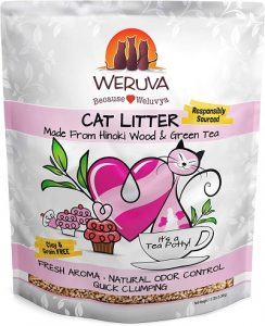 Hinoki Wood & Green Tea Natural Cat Litter by Weruva